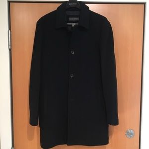 Men's Banana Republic Lined Cashmere/Wool Car Coat